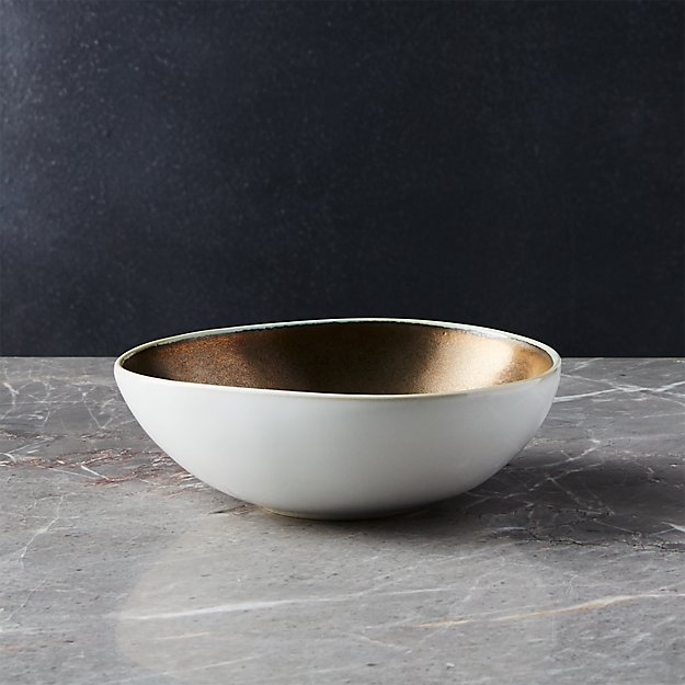 Lux Gold Bowl