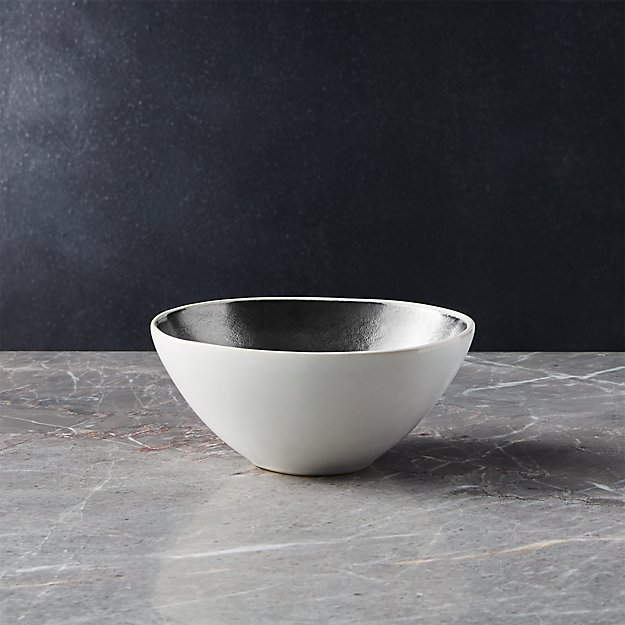 Lux Silver Bowl