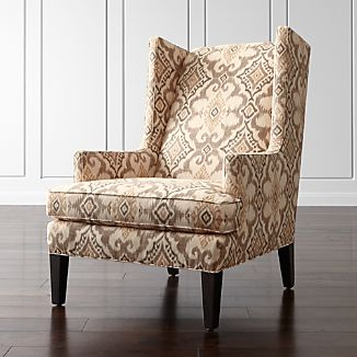 Luxe High Wing Back Chair