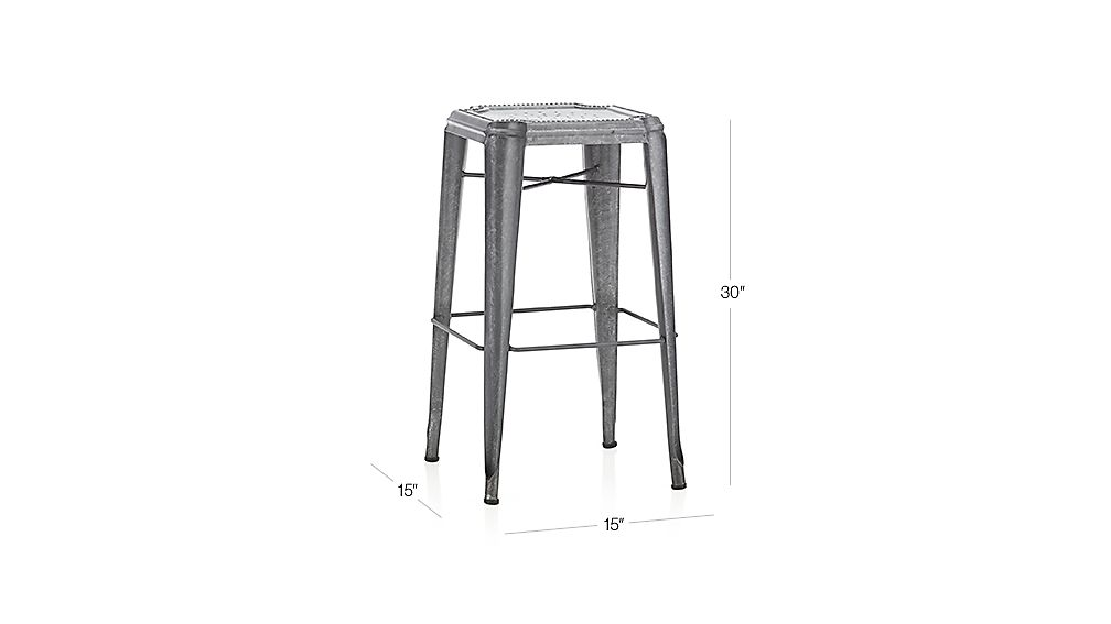 Lyle Backless Bar Stool Crate And Barrel