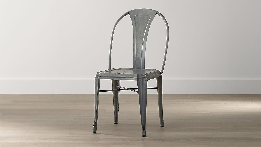Lyle Metal Dining Chair + Reviews | Crate and Barrel