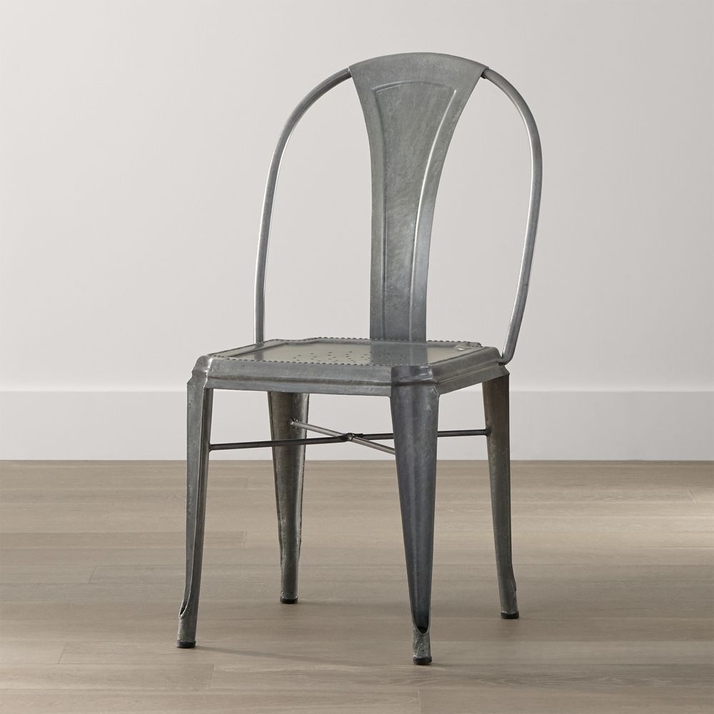 Lyle Metal Dining Chair - Crate and Barrel