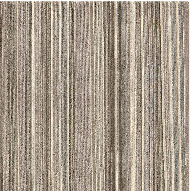 Lynx Grey Textured Wool Rug 5 X8 In Area Rugs Reviews