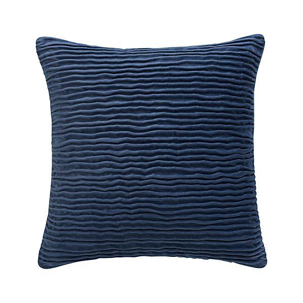 """Lyra Blue 20"""" Pillow"""
