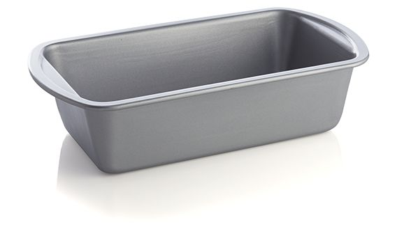 Metal non-stick loaf pan