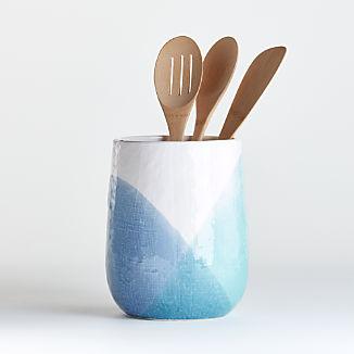 Maci Ceramic Utensil Holder