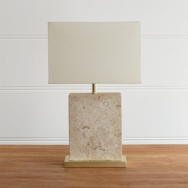 Mactan Stone Table Lamp