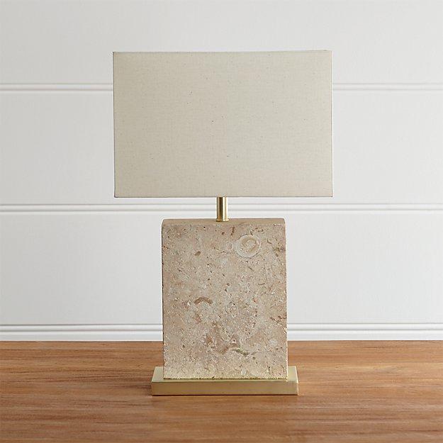 Mocha Bedside Table Lamp