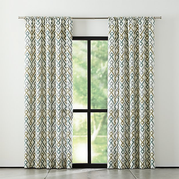 maddox50x96curtainpanelshf15 - Crate And Barrel Curtains