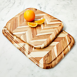 Madeira Herringbone Acacia Wood Board