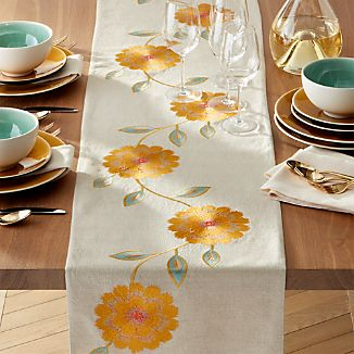 "Madelyn 120"" Table Runner."