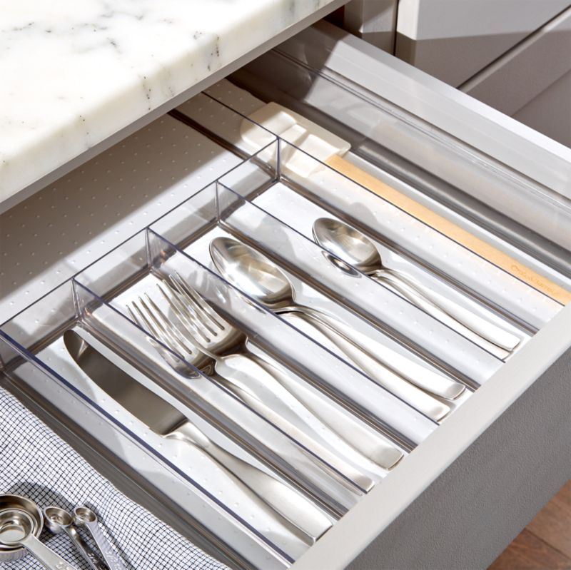 Madesmart Clear Drawer Organizer Reviews Crate And Barrel