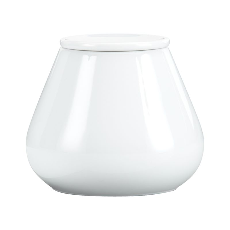 Clean, contemporary design in pristine white porcelain is highly versatile for dining and entertaining. This stylish, affordable dinnerware in a wide variety of shapes is sophisticated yet fun with asymmetrical edges on dinner, salad, low bowl and platters. Madison dinnerware also available.<br /><br /><NEWTAG/><ul><li>Coupe shaped pieces</li><li>Porcelain</li><li>Dishwasher- and microwave-safe</li></ul>