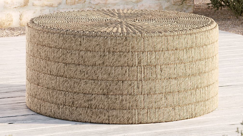 Madura Woven Outdoor Coffee Table - Image 1 of 7