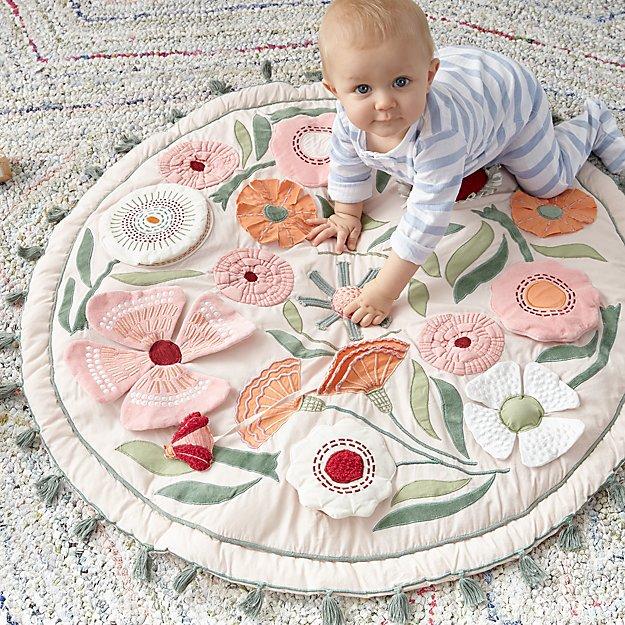 Игровой коврик Magical Garden Baby Activity Mat от Crate&Kids