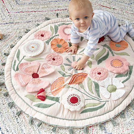 Magical Garden Baby Activity Mat Reviews Crate And Barrel