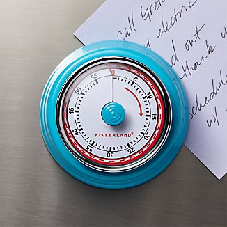 Magnetic Blue Kitchen Timer