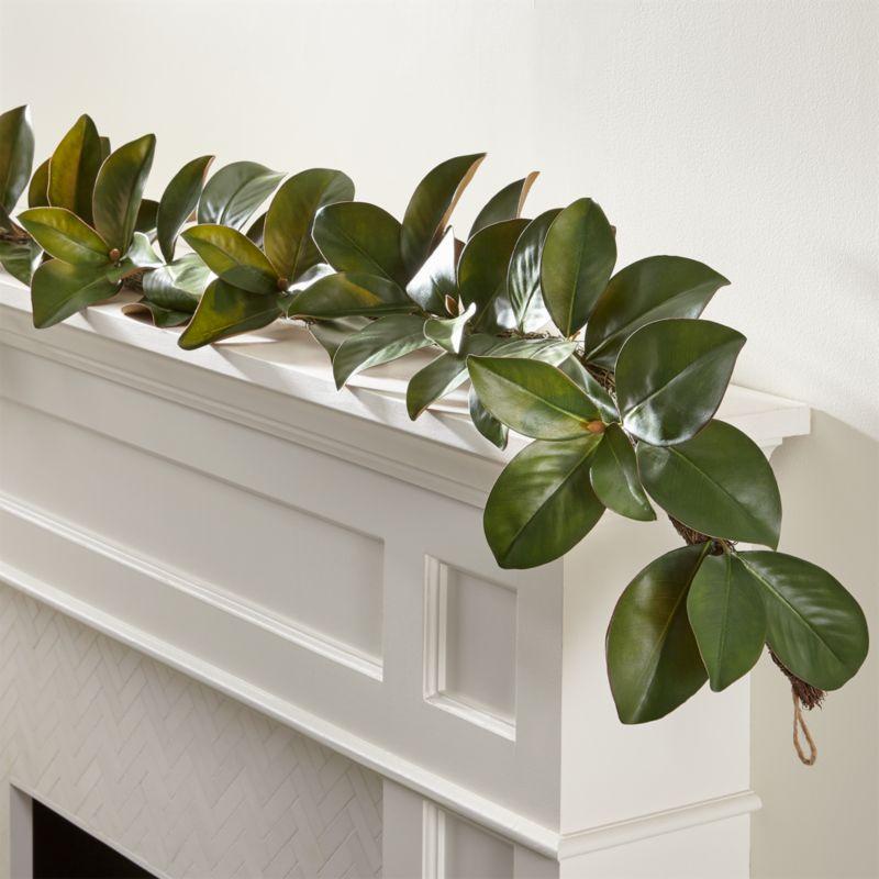 magnolia garland reviews crate  barrel