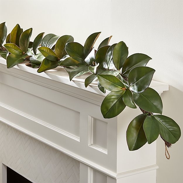 Well known Magnolia Garland + Reviews | Crate and Barrel HB03