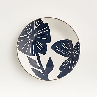 Mai Blue Floral Plate