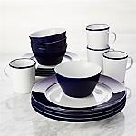 Maison Cobalt Blue 16-Piece Dinnerware Set