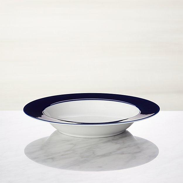 Maison Cobalt Blue Low Bowl