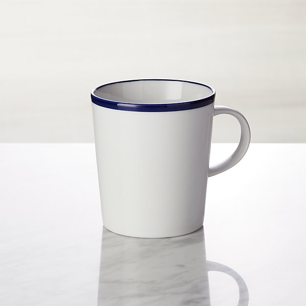 Maison Cobalt Blue Mug Crate And Barrel