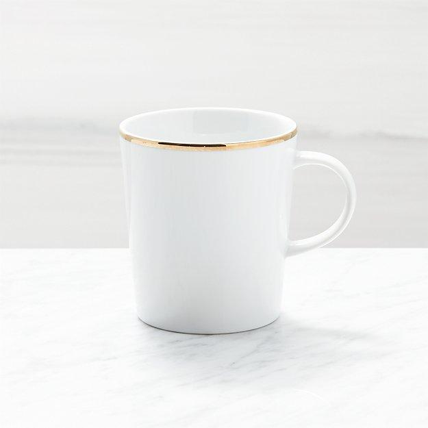 Maison Gold Rim Mug