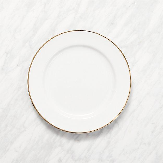 Maison Gold Rim Salad Plate - Image 1 of 2