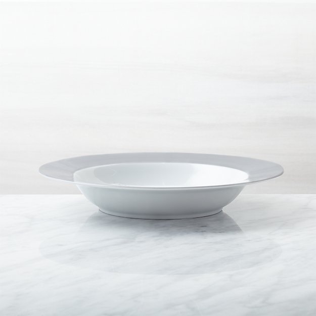Maison Grey Low Bowl - Image 1 of 3
