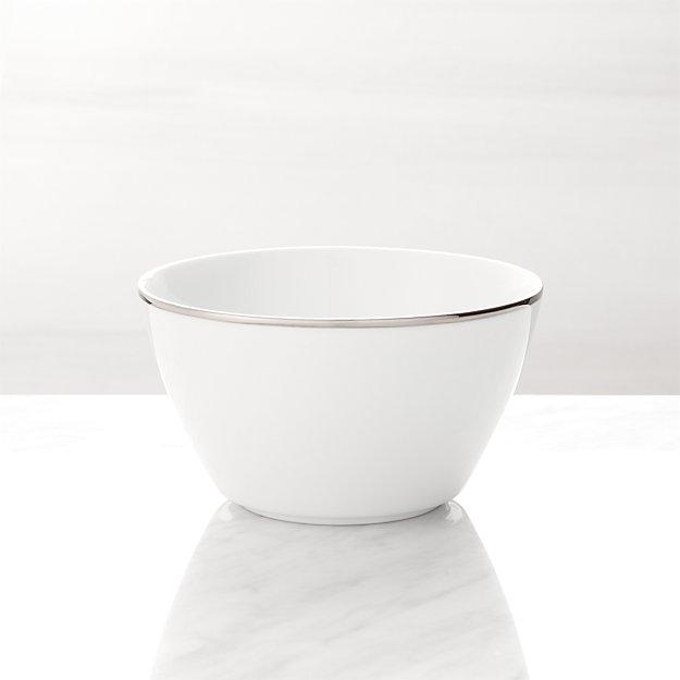 Maison Platinum Rim Cereal Bowl - Image 1 of 4