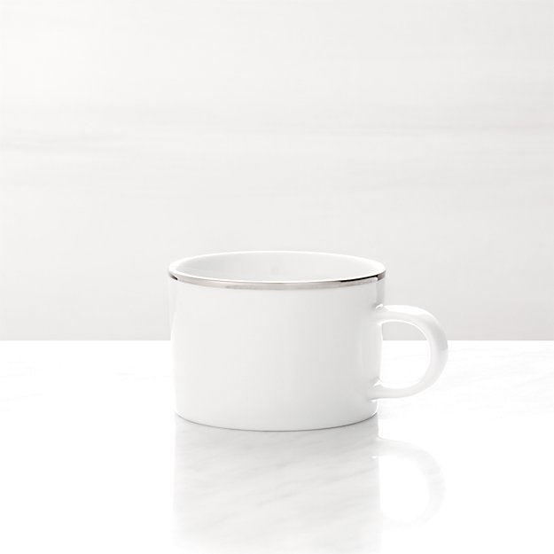 Maison Platinum Rim Cup
