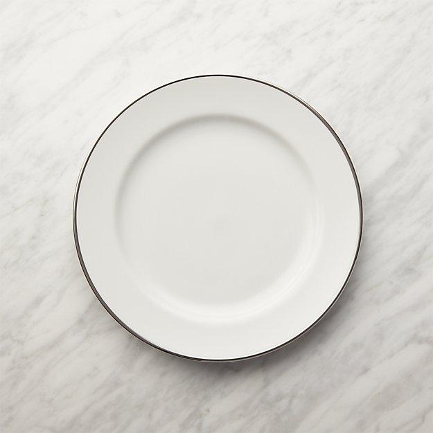 Maison Platinum Rim Salad Plate - Image 1 of 5