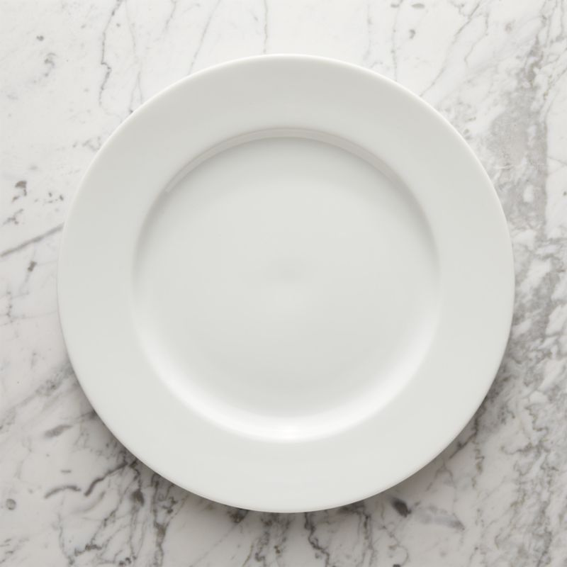 This streamlined, contemporary classic has long been a Crate and Barrel favorite for its fine quality, durability and versatility. The simple, clean look of our Maison pure white porcelain platter is sure to accent many memorable meals chez vous. Maison dinnerware also available.<br /><br /><NEWTAG/><ul><li>Porcelain</li><li>Dishwasher-, microwave- and warm oven-safe</li><li>Made in Japan</li></ul>