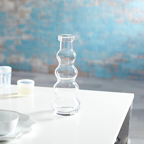 Mallorca Tall Glass Vase