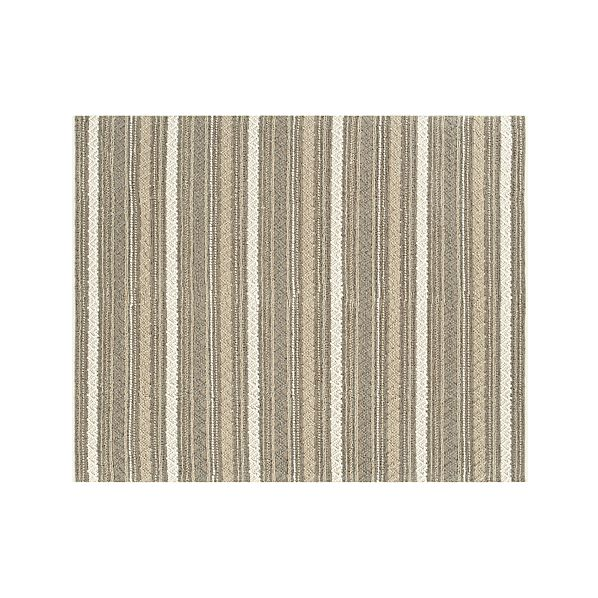 Mallory Neutral Striped Wool 8'x10' Rug