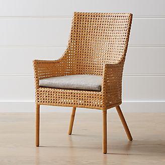 Maluku Dining Arm Chair And Cushion