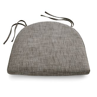 Maluku Grey Dining Side Chair Cushion