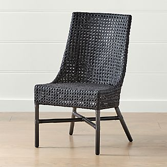 Rattan Dining Chairs Crate And Barrel