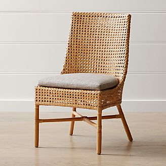 Maluku Dining Side Chair And Cushion