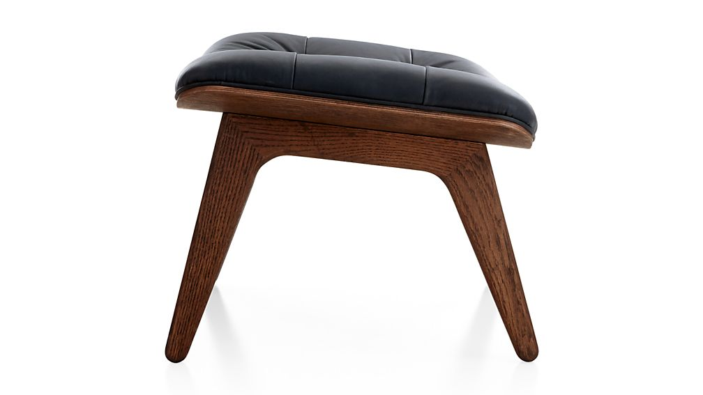 Mammoth Leather Ottoman