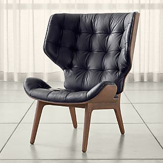 pin it mammoth leather chair - Leather Chair And A Half