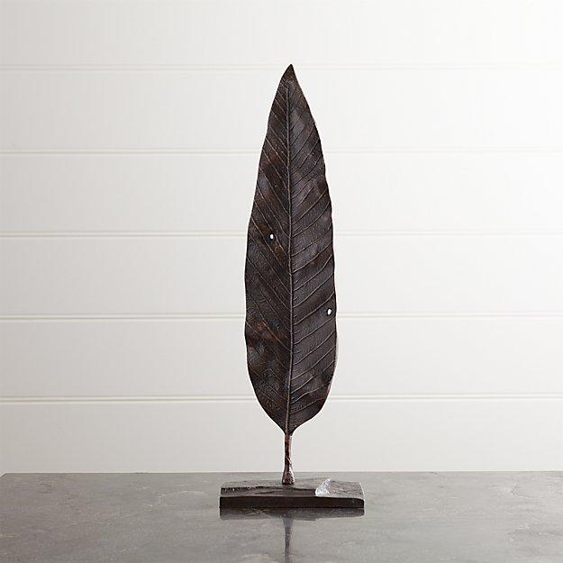 Mango Leaf On Stand - Image 1 of 9