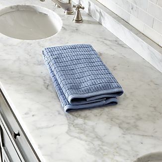 Manhattan Blue Hand Towel