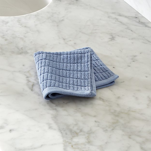 Manhattan Blue Washcloth