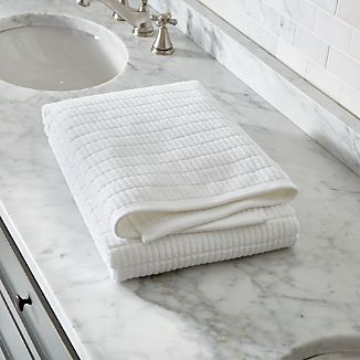 Manhattan White Bath Sheet