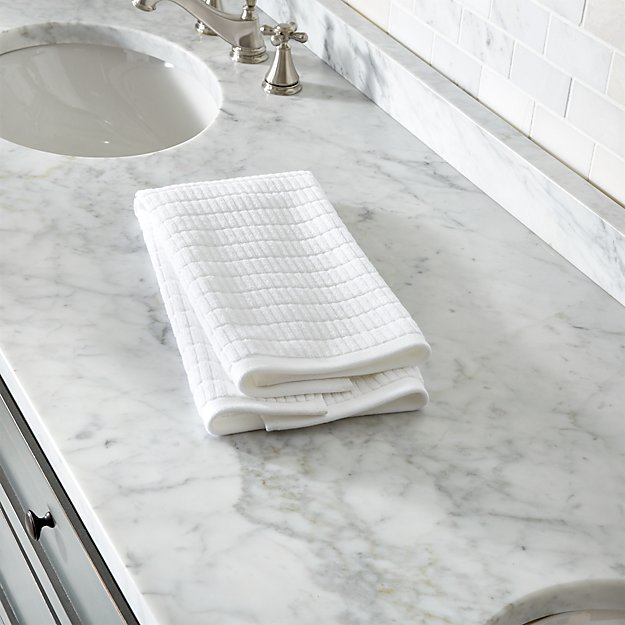 Manhattan White Hand Towel