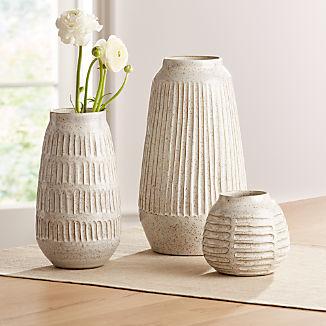 Mara Cream Vases