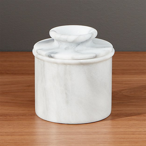 Marble Butter Crock : French kitchen marble butter keeper crate and barrel