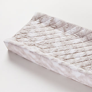 Organic Marble Changing Pad Cover